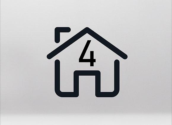 Impianto per appartamento 4 stanze fino a 75m² [PACCHETTO BASE]
