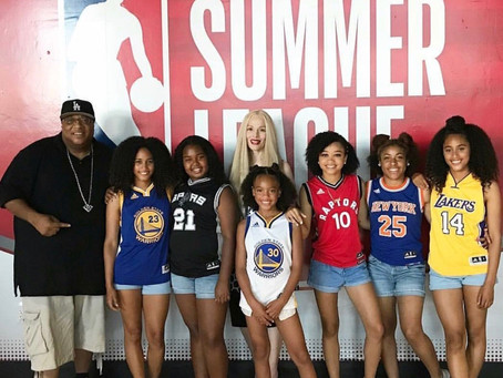 Project Level performs at NBA's Summer League