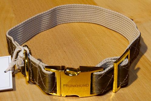 Prunkhund Halsband GOLD S