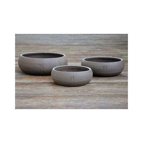Hundenapf Keramik Schiefer small