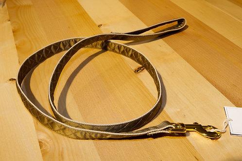 Prunkhund Leine GOLD, 120cm