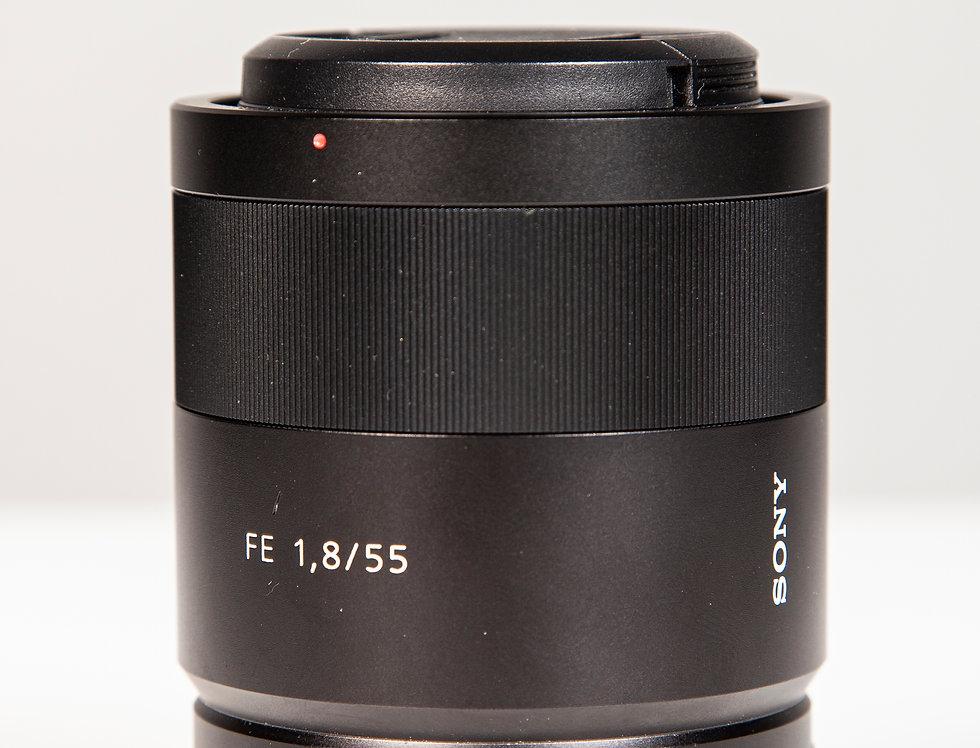 Sony FE 55mm f/1.8