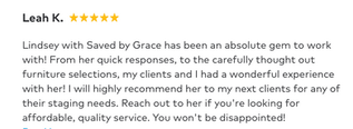 Leah K. Review