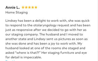 Annie L. Review