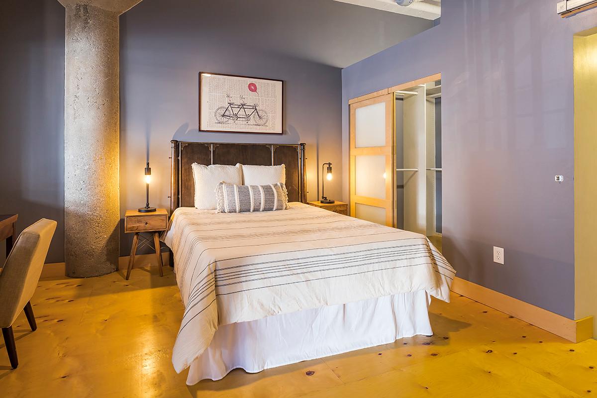 Vacant Condo Bedroom