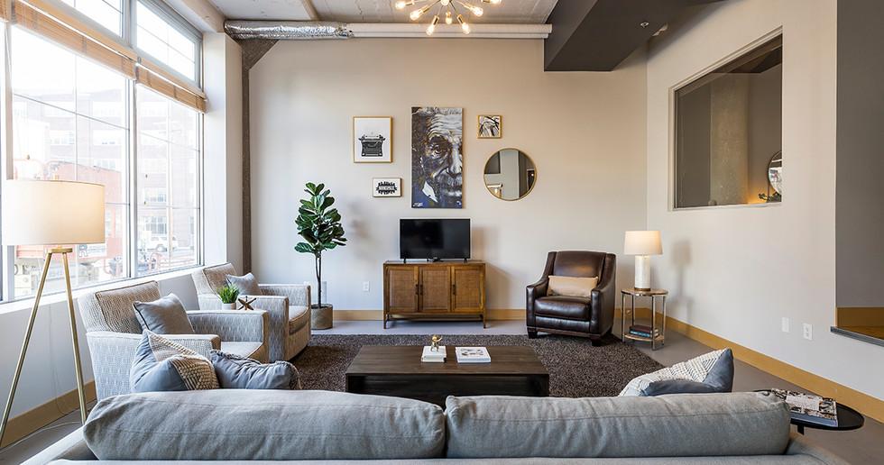 Vacant Condo Living Room