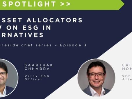 An Asset Allocator view on ESG in Alternatives