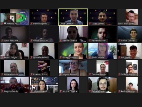 Clube Centauri comemora 6 anos de existência com um evento online