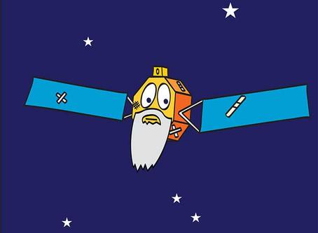 """Para onde vão os satélites quando eles """"morrem""""?"""