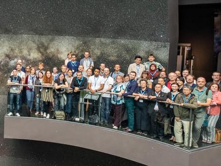 Clube Centauri participa de mais um congresso internacional