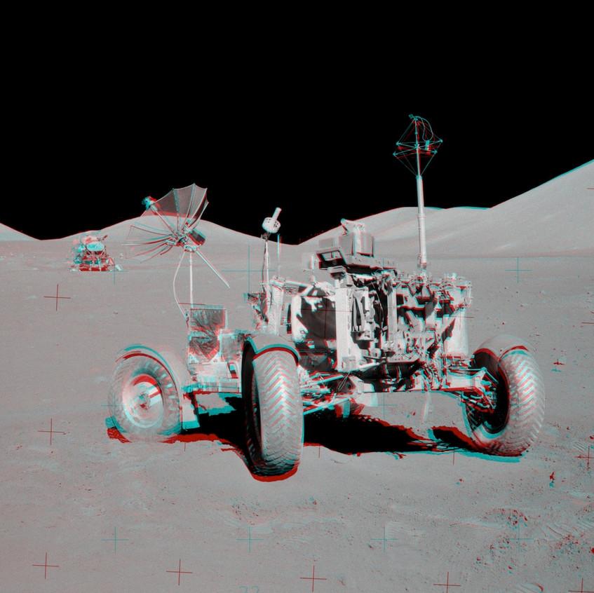 Rover da missão Apollo 17