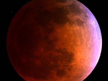 Noite de 27 de julho terá Eclipse Lunar visível no Brasil