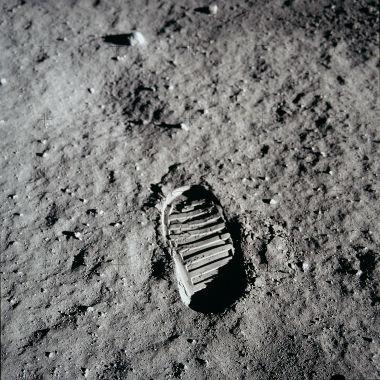 Famosa pegada na Lua