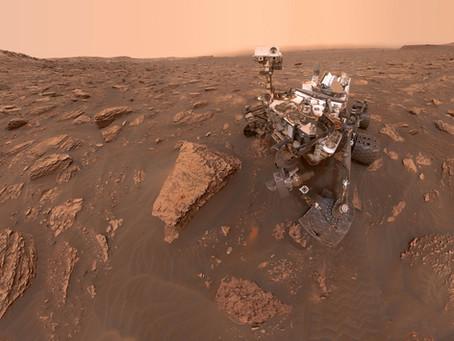 Uma visão incrível de Marte