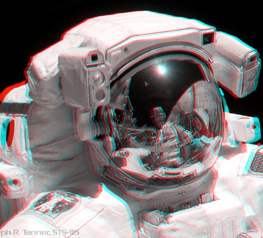Astronauta em missão