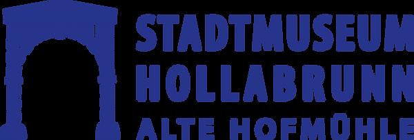 Stadtmuseum Hollabrunn Logo BLAU klein.p