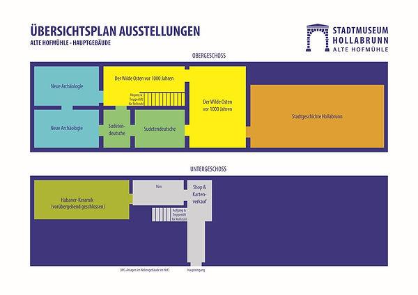 Raumplan Stadtmuseum Hollabrunn 2021kl.j