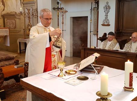 P. Philippus 25 Jahre lang Priester