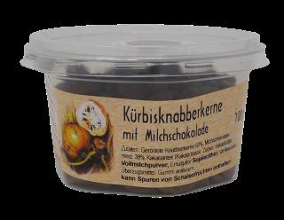 KÜRBIS-KNABBERKERNE mit Milchschokolade