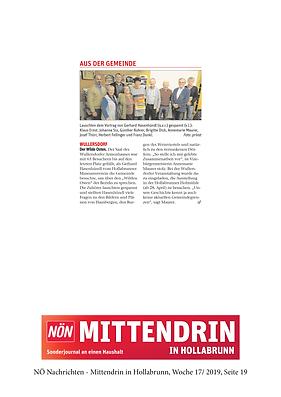 NÖN Mittendrin WilderOsten Wo172019 S19.