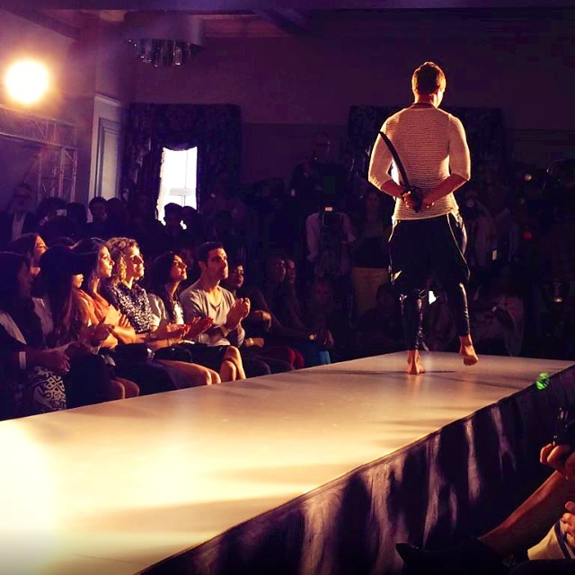 GAREK on the runway