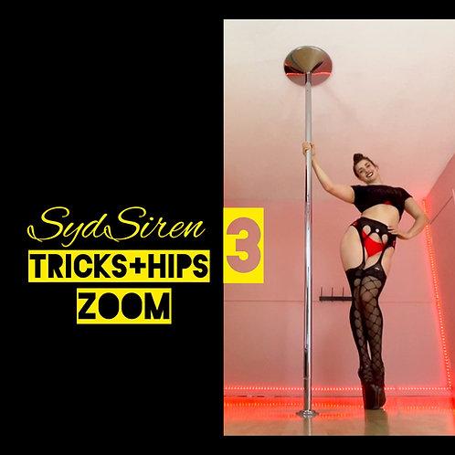 Tricks+Hips 3 (ZOOM Workshop)