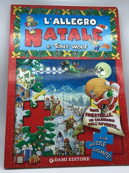 Libro/Puzzle L'Allegro Natale