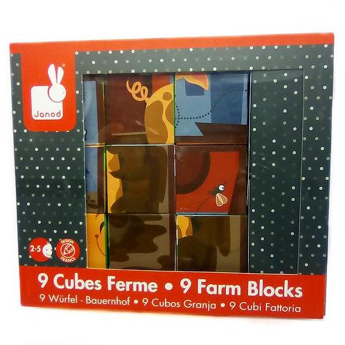Cubi puzzle Janod