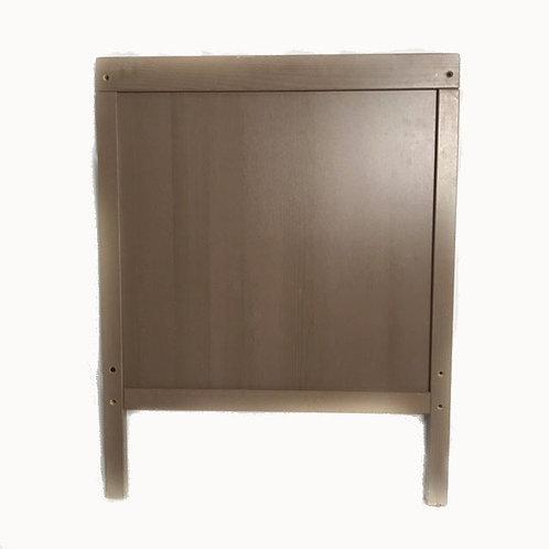 Lettino Legno IKEA Grigio tortora