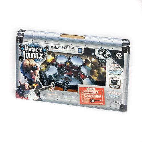 Batteria Paper Jamz - Instant Rockstar