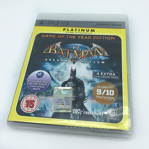 Gioco PS3 - Batman Arkham Asylum