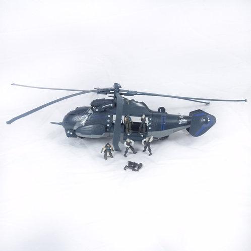 Elicottero militare meccano