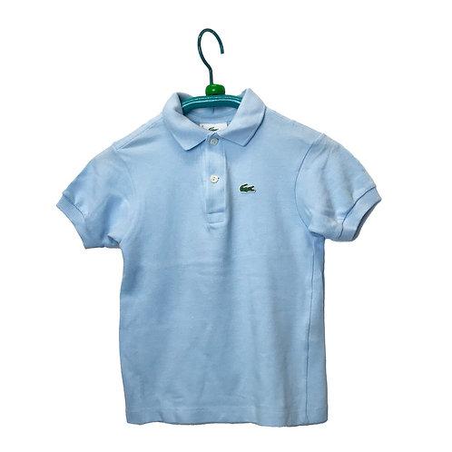Polo azzurra bimbo Lacoste