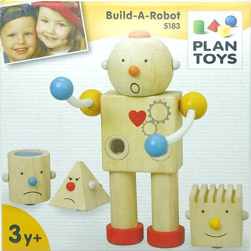 Robot in legno Plan Toy