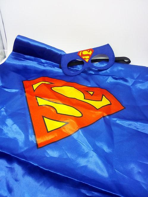Mantello e maschera Superman