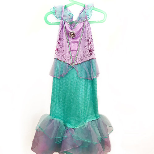 Costume Carnevale Sirenetta Disney - 5/6 anni
