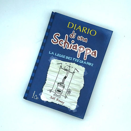 Libro - Diario di una Schiappa: La legge dei pi� grandi