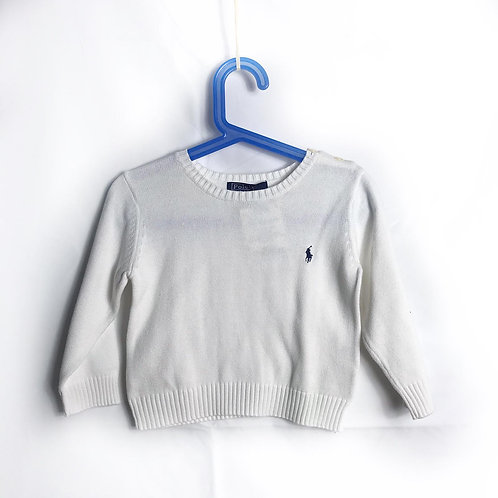 Maglioncino bianco Ralph Lauren