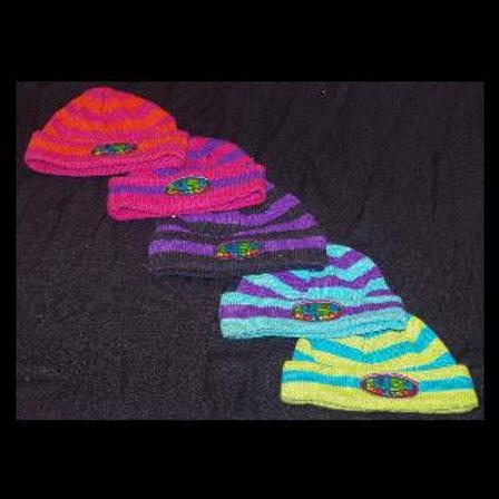 Stripy Beanie Hat