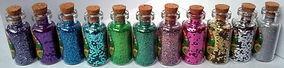 biodegradable glitter fairy bottle unicorn mermaid environmental