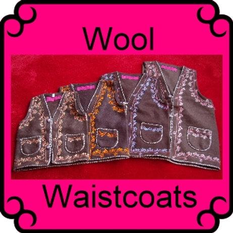 Rishikesh Wool Waistcoat