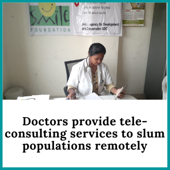 Doctors provide tele-consulting services