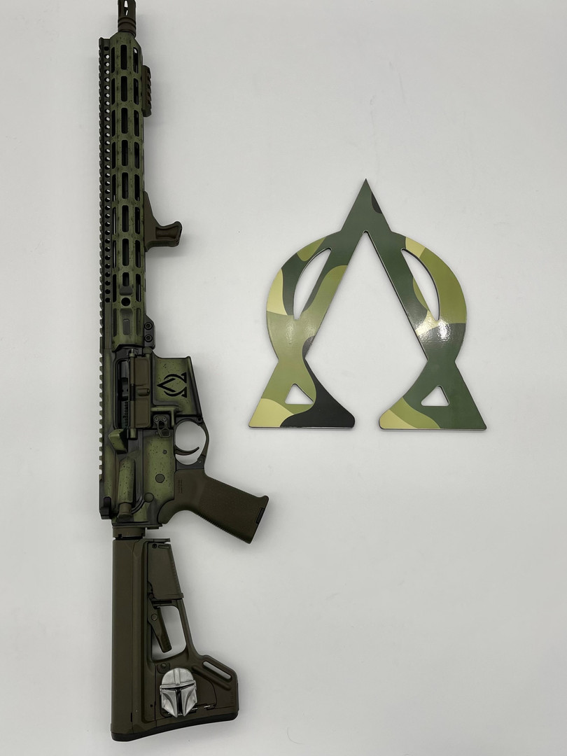 "AOA ""Swamp Thing"" Rifle"