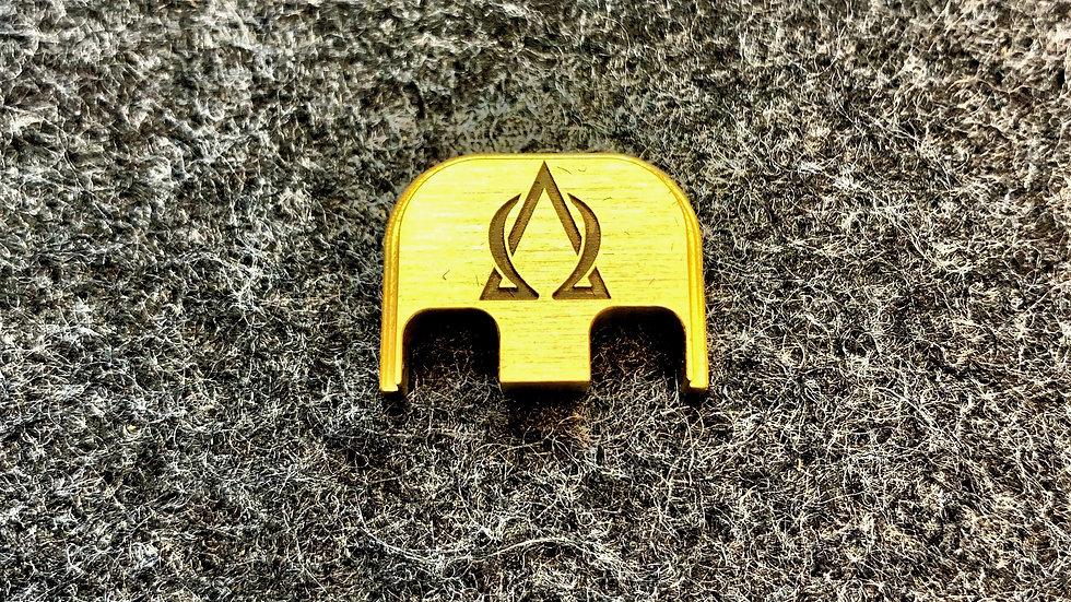 AOA Brass Glock Backplate