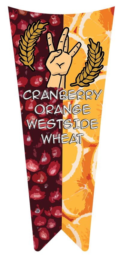 Cranberry Orange Westside Wheat Tap Hand