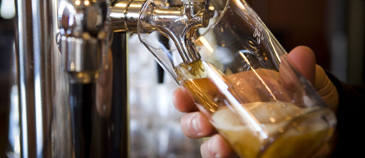 Draft Beer On Tap