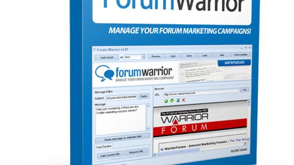 Forum Warrior
