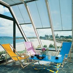 store de veranda plisse
