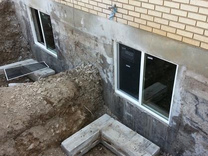 Concrete Cutting Egress Windows