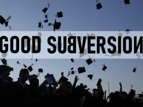 Community Colleges: A Good Kind of Subversion